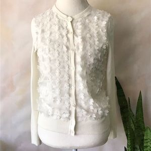 ❌SOLD❌A New Day Floral Off White Cardigan